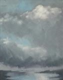 Loch Craignish, spring squall by malize mcbride, Painting, Oil on canvas