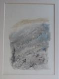 Mica schist, Ben Lawers by malize mcbride  MA Hons MFA, Painting, Acrylic and charcoal on canvas