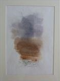 Sandstone, Torridon by malize mcbride  MA Hons MFA, Painting, Watercolour and pencil