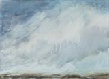 Snow squall, Sutherland by malize mcbride, Painting, Watercolour on Paper