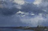 Squall, Lingerabay by malize mcbride, Painting, Oil on canvas