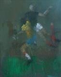 World cup 1974 by malize mcbride, Drawing, Pastel on Paper