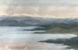 loch ewe by malize mcbride, Painting, Watercolour on Paper
